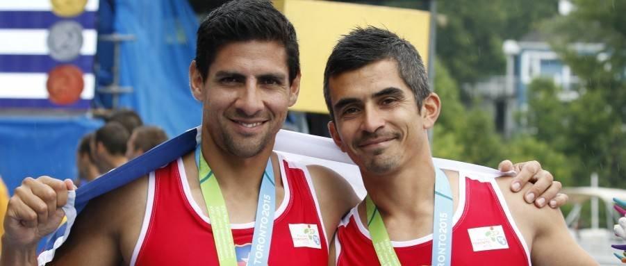 Oscar Yantani y Miguel Cerda (Team Chile)