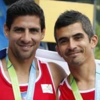 Oscar Yantani y Miguel Cerda