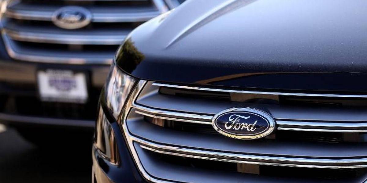 Los beneficios de Ford cayeron casi un 18% en el primer semestre