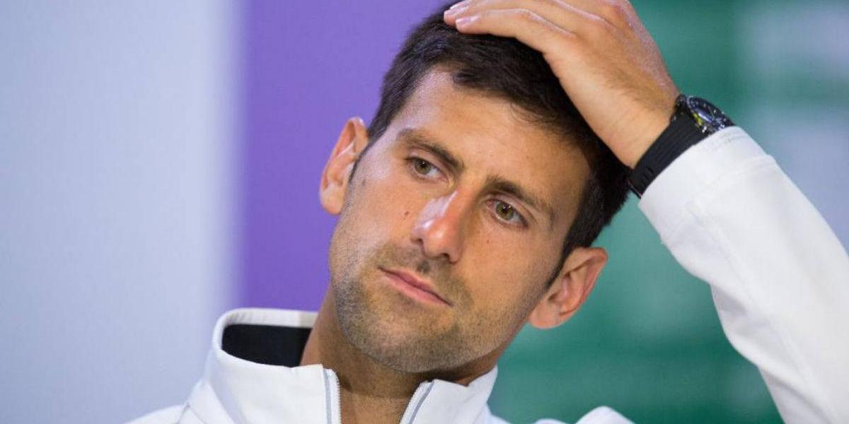 Novak Djokovic no jugará en lo que resta el año por lesión en el codo