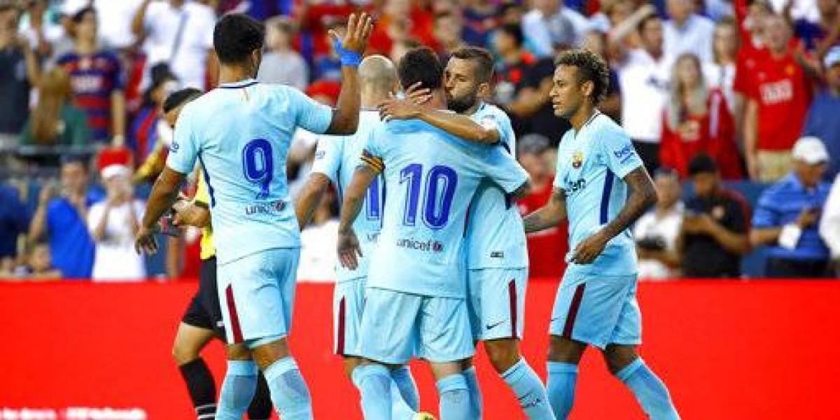Neymar le sigue dando victorias al FC Barcelona