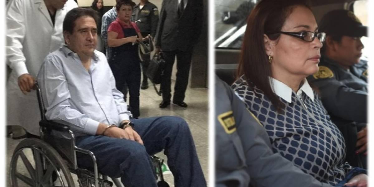 Ministerio Público investiga si dictámenes del Inacif favorecieron a Baldetti y Alejos