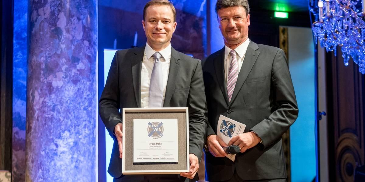 En Alemania, Iveco Daily recibe importantes premios