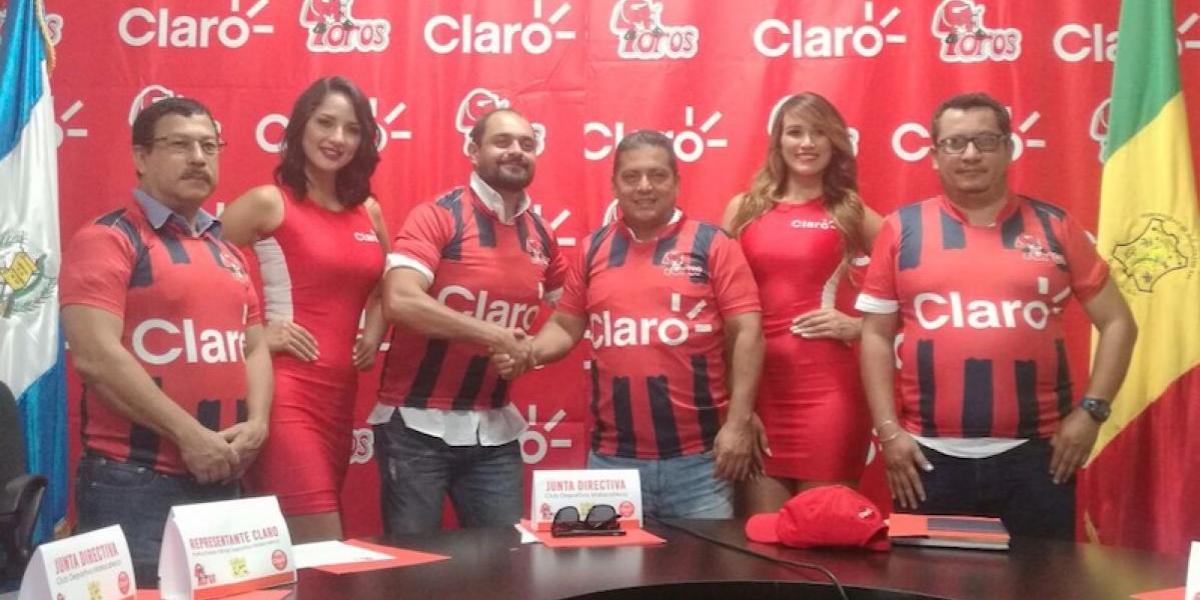Deportivo Malacateco da a concer a su nuevo patrocinador