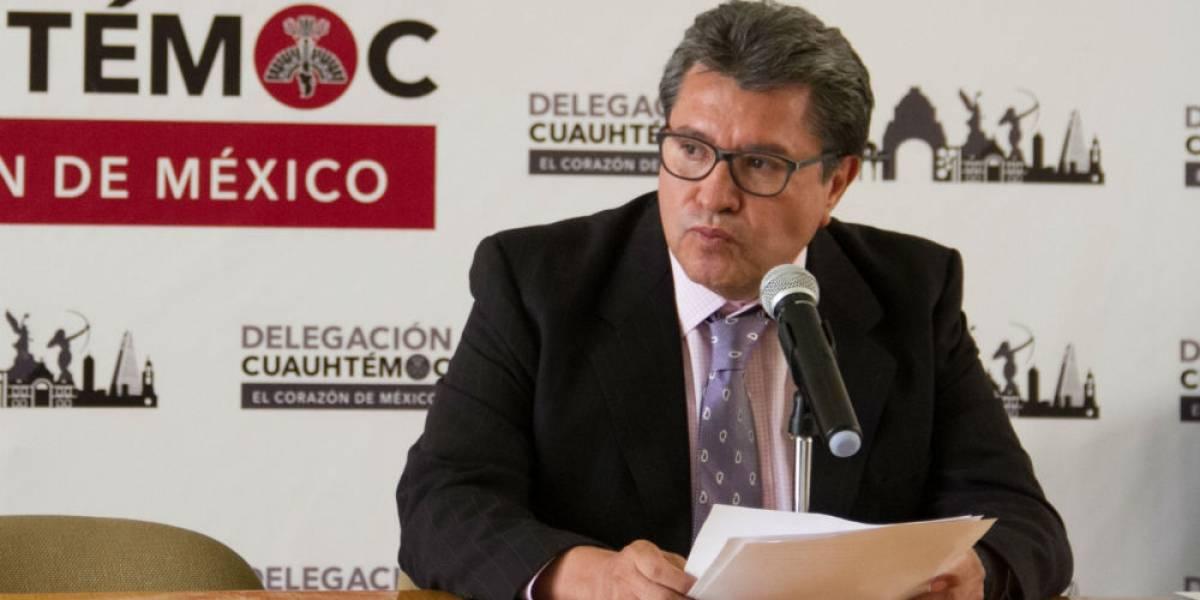 Delincuencia organizada sí opera en la CDMX: Ricardo Monreal