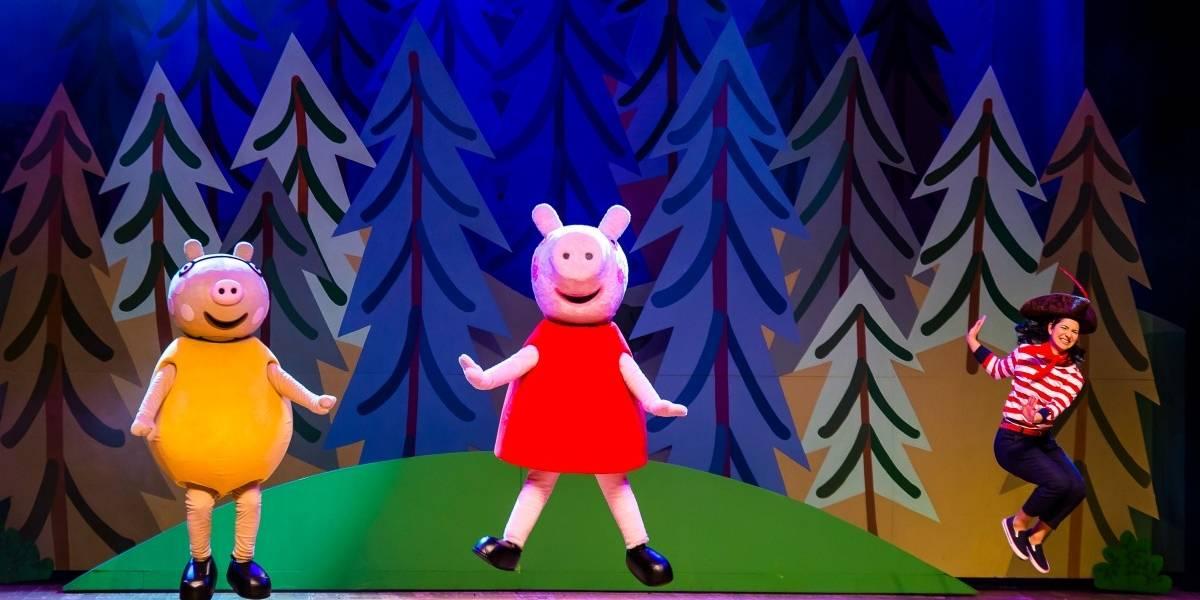 Nuevo show de Peppa Pig en el Teatro Teletón
