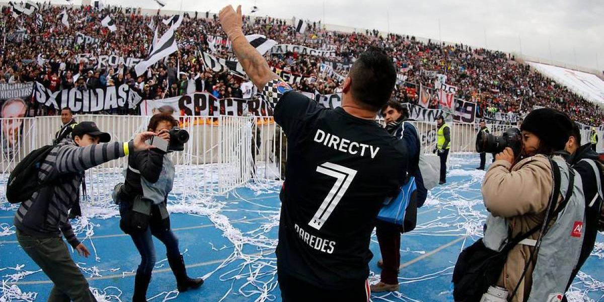 Esteban Paredes cumplió su deseo y renovó en Colo Colo por dos años