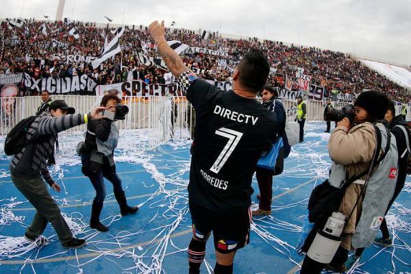Colo Colo tiene Paredes para rato / imagen: Photosport