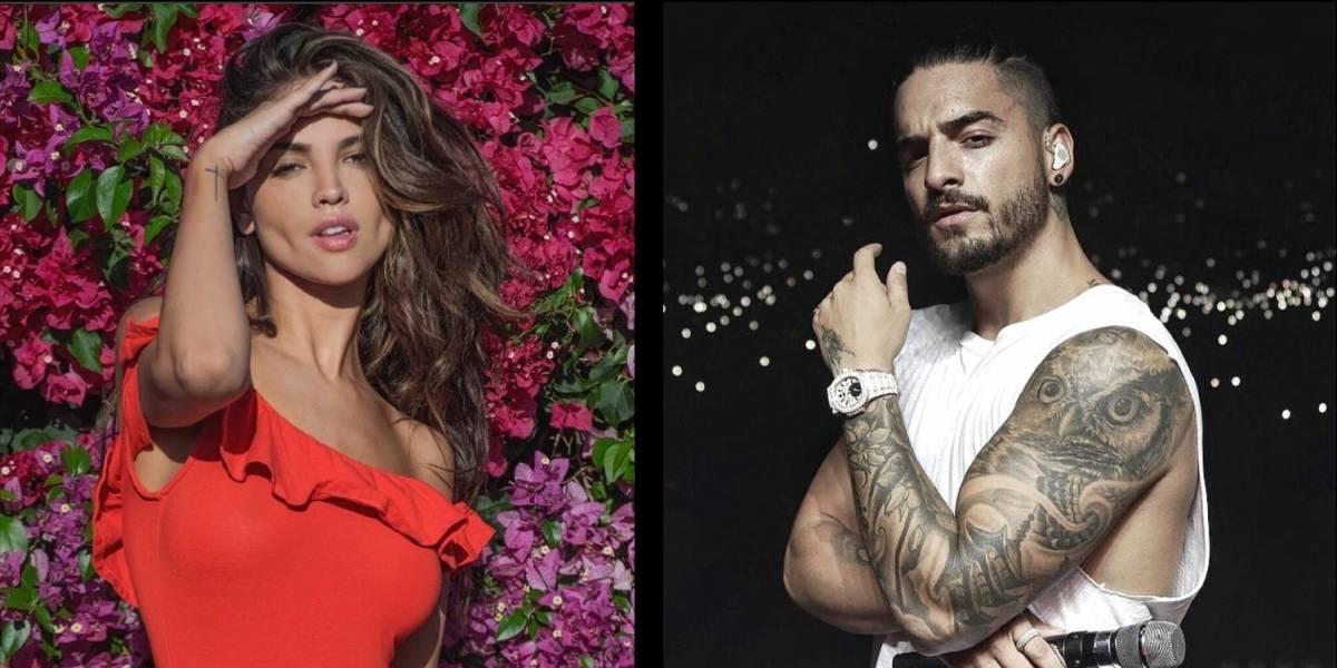 Filtran video de Maluma y Eiza González juntos en una fiesta, ¿romance a la vista?