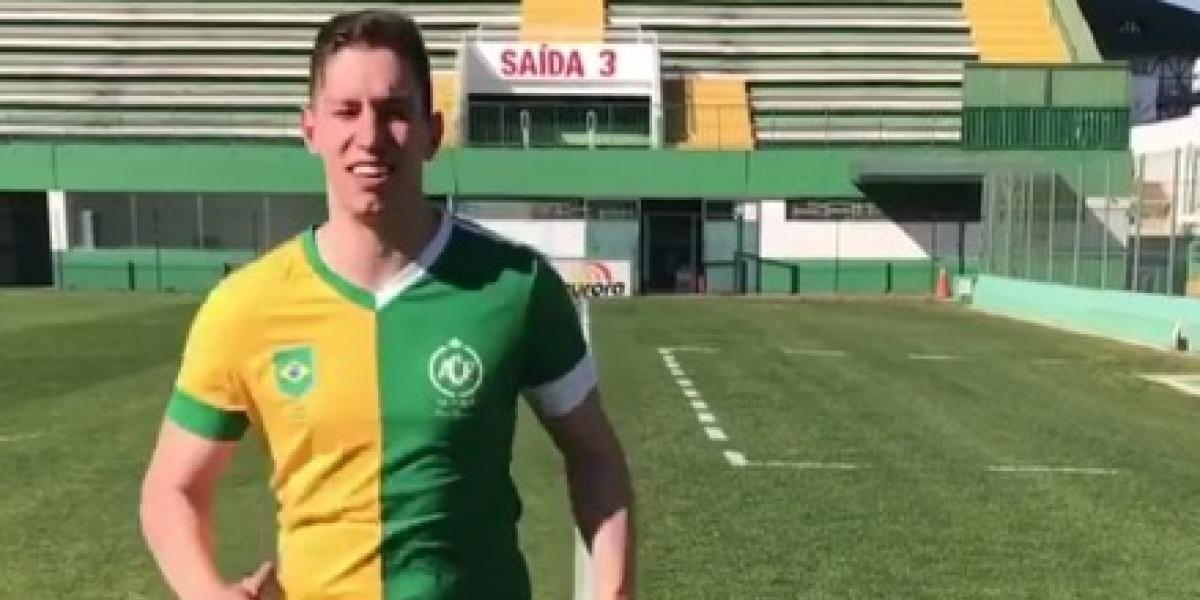 Portero del Chapecoense vuelve a entrenar tras avionazo