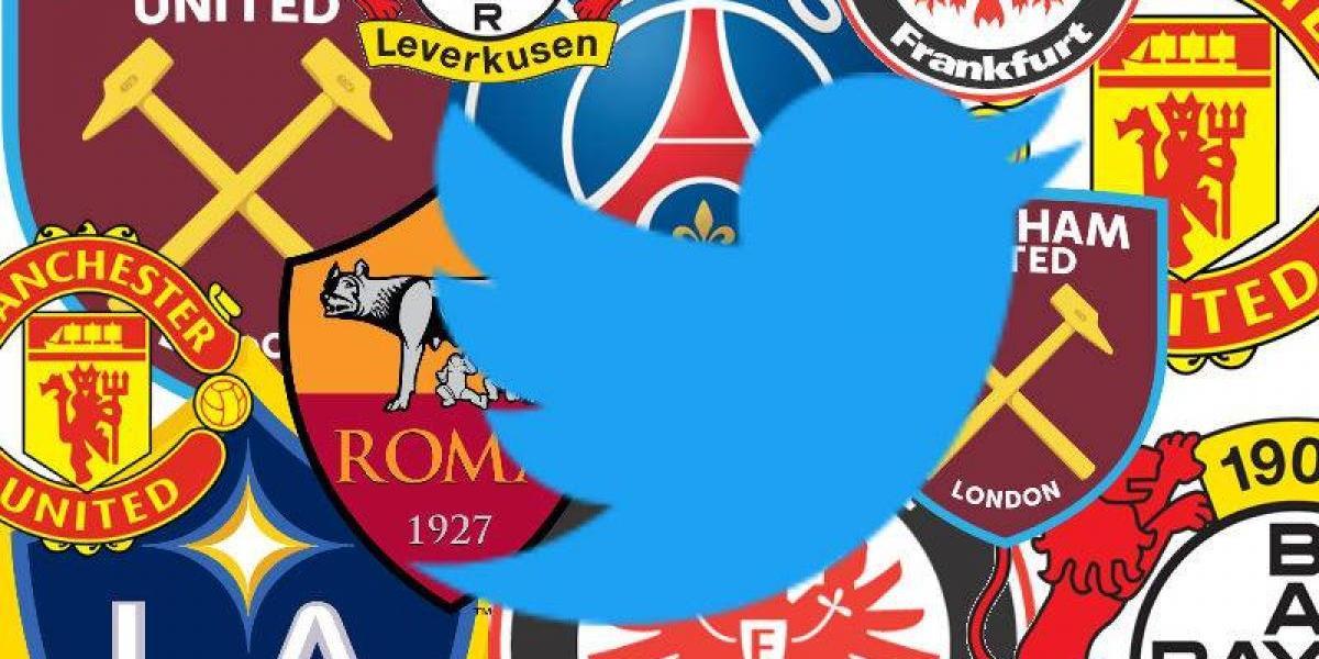 Clubes europeos que han creado cuentas de Twitter en español
