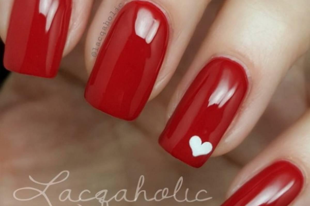 Nail Art 35 Fotos De Diseños De Uñas De Corazón Y Amor Para