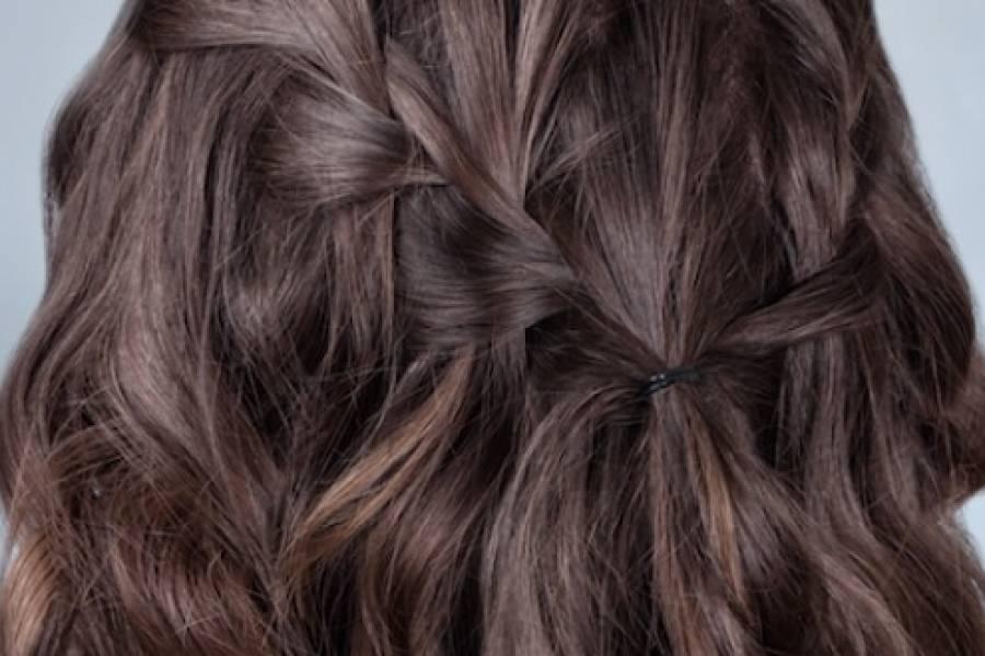 Trenza de cascada, un bonito y fácil peinado para toda ocasión