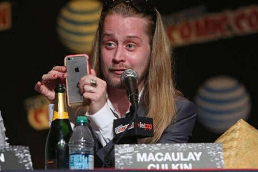 ¡Como en los viejos tiempos! Macaulay Culkin aparece con mejorada imagen