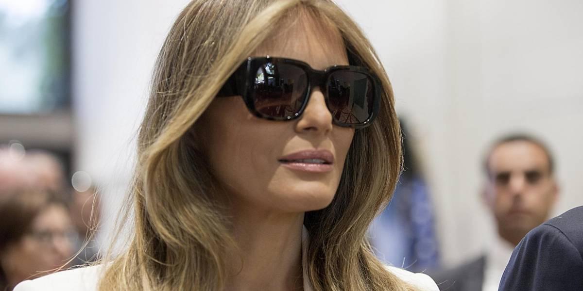 Melania Trump hará su primer viaje sola como primera dama
