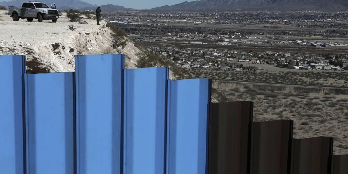 Cámara Baja aprueba $1,600 millones para muro en la frontera