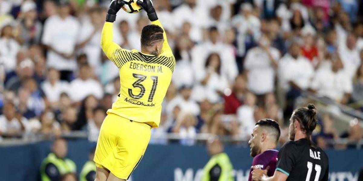 Manchester City golea al Real Madrid y Ederson se afirma en el arco Ciudadano