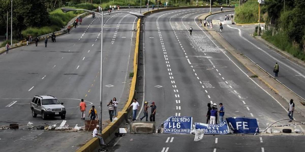 Venezuela inicia segunda jornada de huelga con tres muertos y 159 detenidos