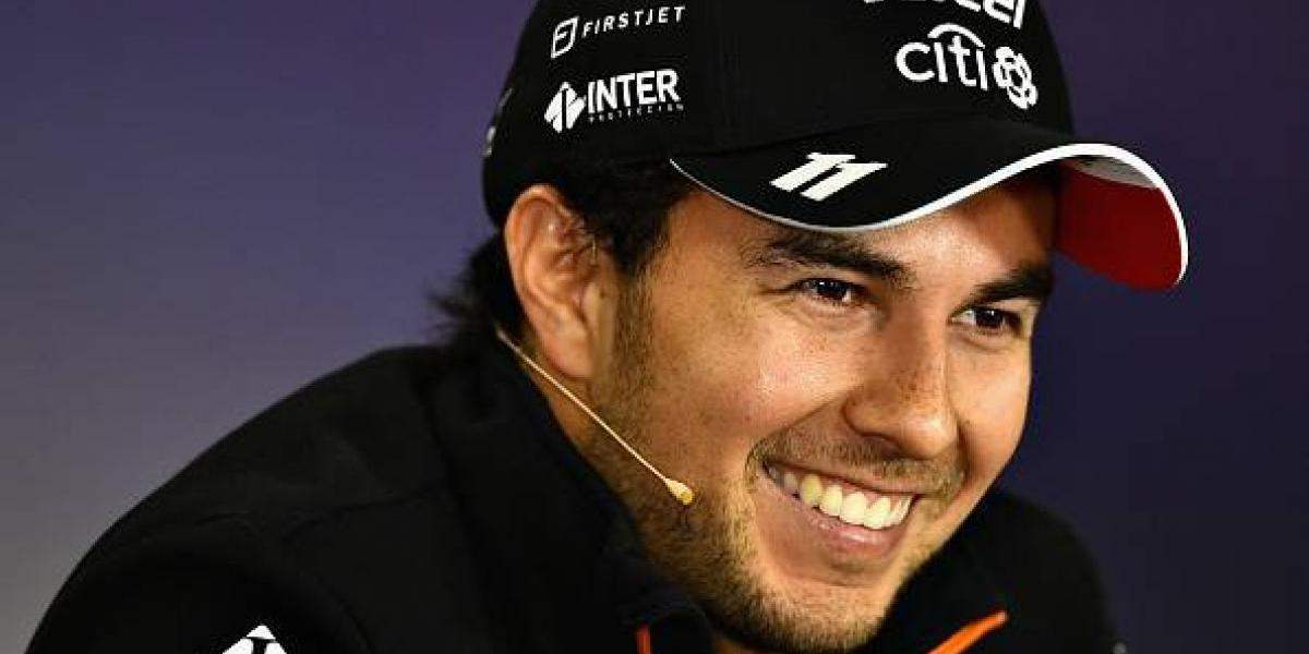 VIDEO: Checo Pérez revela los nombres que le gustarían para Force India