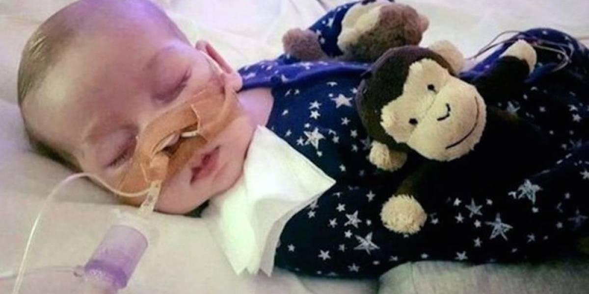 Juez ordena desconectar a Charlie Gard, bebé británico en estado terminal