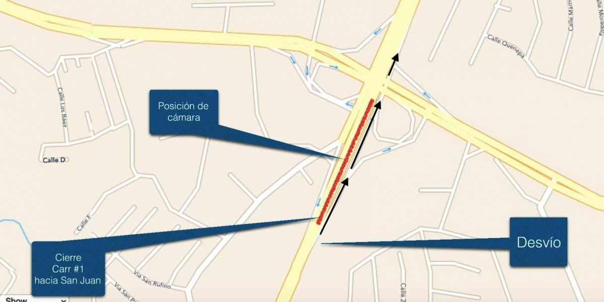 Cierran tramo de carretera de Caguas a Río Piedras