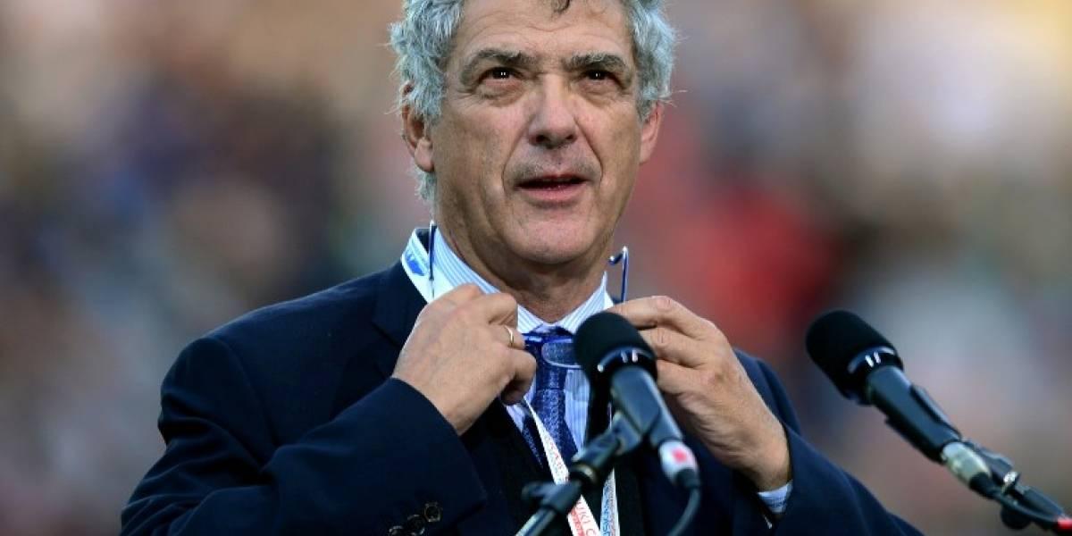 Ángel María Villar renuncia como vicepresidente de la UEFA