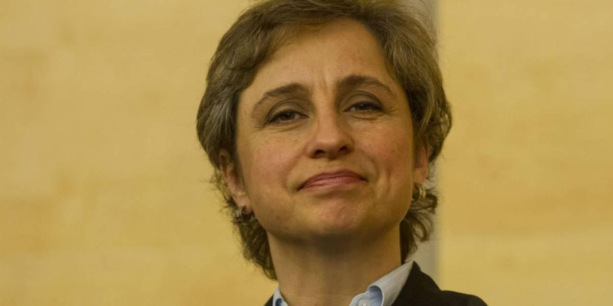 Juez declara 'ilegal' cancelación del programa de Aristegui en MVS