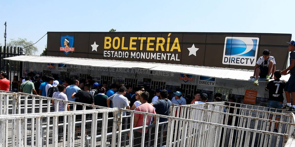 Colo Colo inició venta de entradas en el Monumental con nuevas medidas de seguridad
