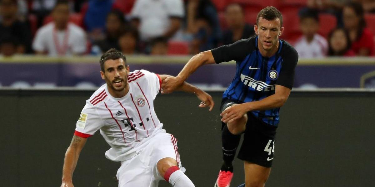 Bayern Munich cae ante el Inter de Milán en amistoso