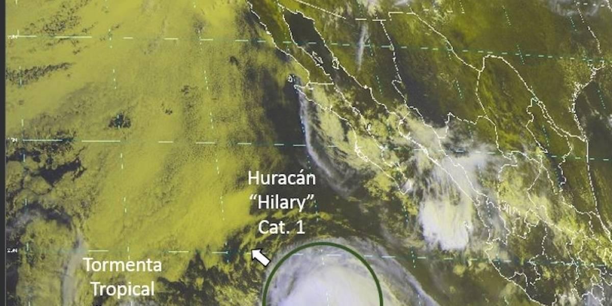 Huracán 'Hillary' pierde fuerza y se convierte en tormenta tropical