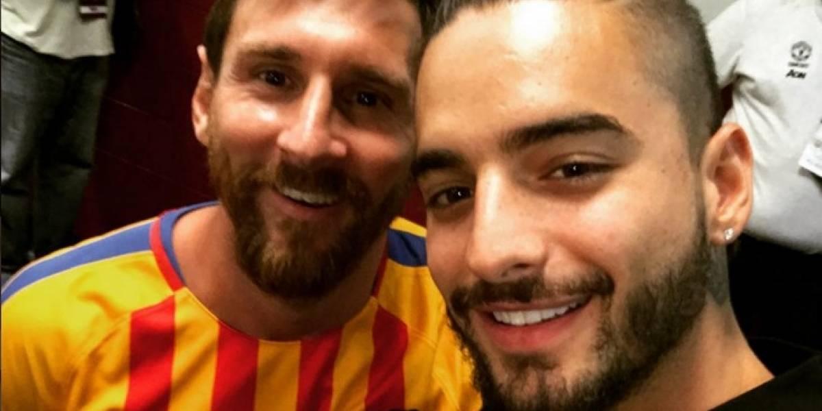 ¿Qué hacía Maluma con Messi, Neymar y Justin Timberlake en Estados Unidos?
