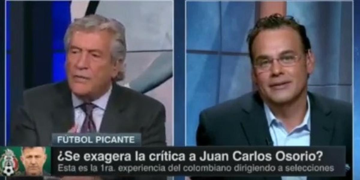 VIDEO: 'Rafa' Puente y Faitelson explotan en pleno programa