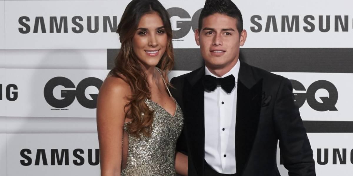 ¡La foto que James Rodríguez y Daniela Ospina tenían bien guardada!