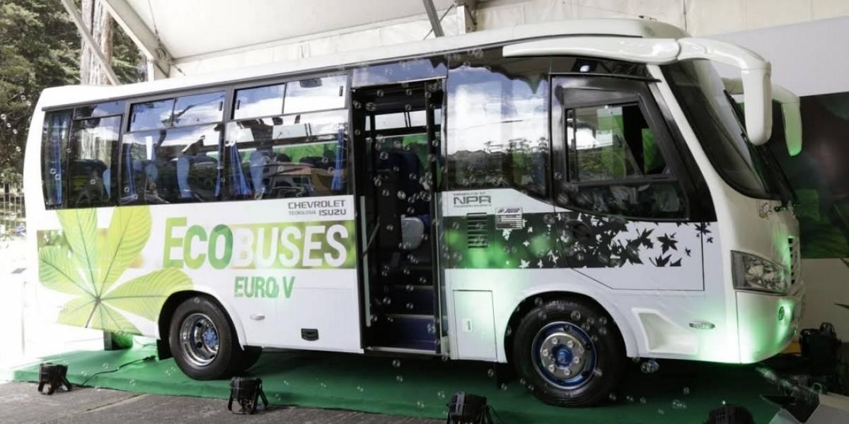 Chevrolet inicia un movimiento verde con buses Euro V
