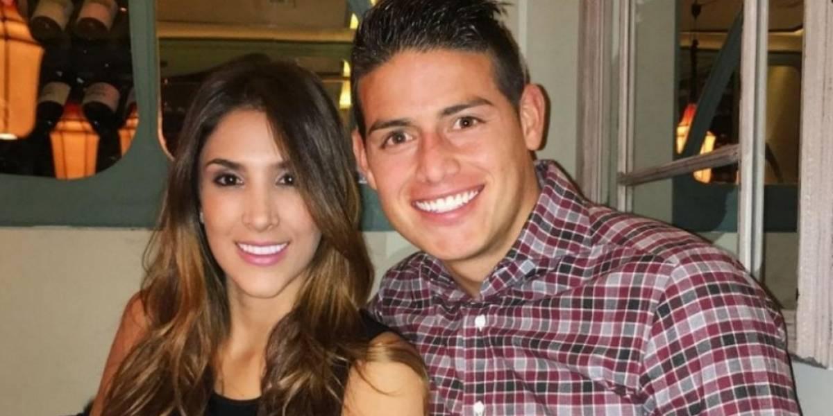 ¿James y Daniela también pasaron el Año Nuevo juntos?
