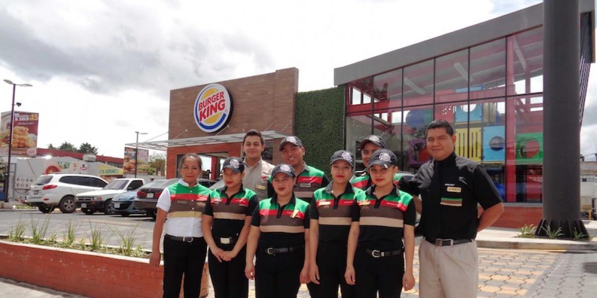 Burger King inaugura su restaurante número 50 en Quetzaltenango
