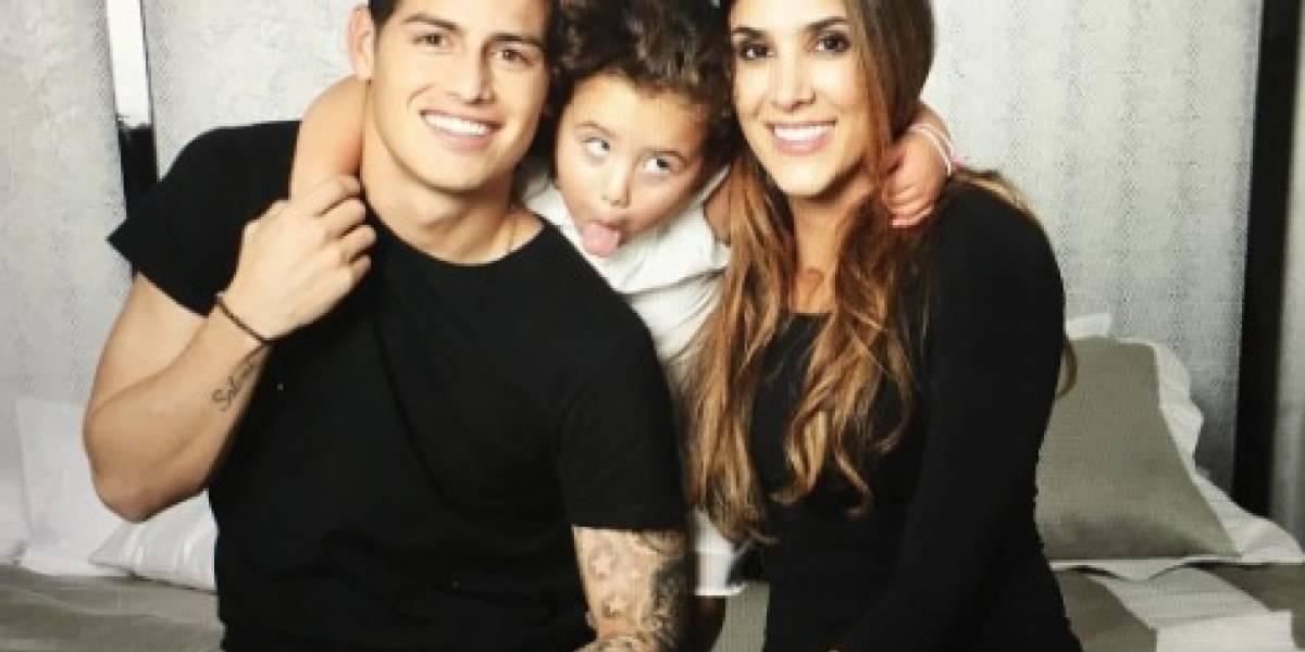 La última foto que publicó Daniela Ospina junto a James en Instagram