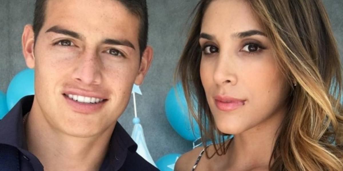 ¿También en piscina? Nuevas imágenes prueban que James y Daniela Ospina pasan juntos las vacaciones