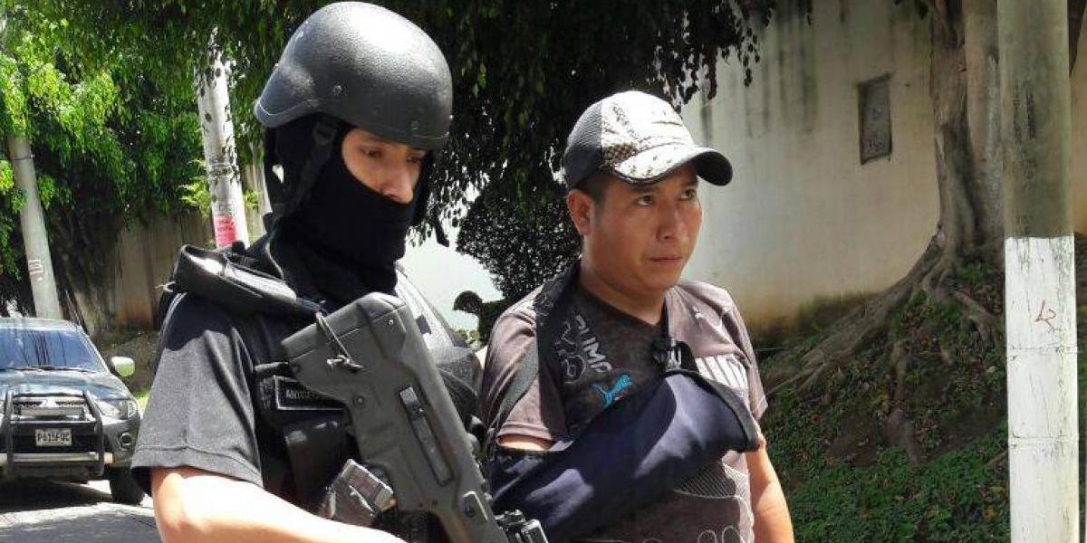 VIDEO. Capturado por asesinato de niños en San Juan Sacatepéquez confiesa crimen