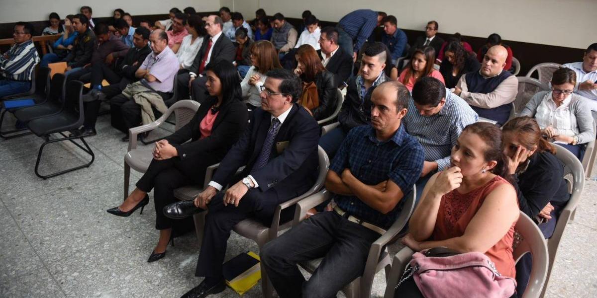 """Jueza decidirá el futuro de 34 beneficiados en el caso """"Plazas fantasma"""""""