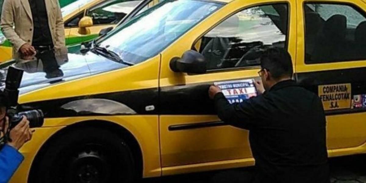 Taxistas tomarán acciones contra plataformas tecnológicas