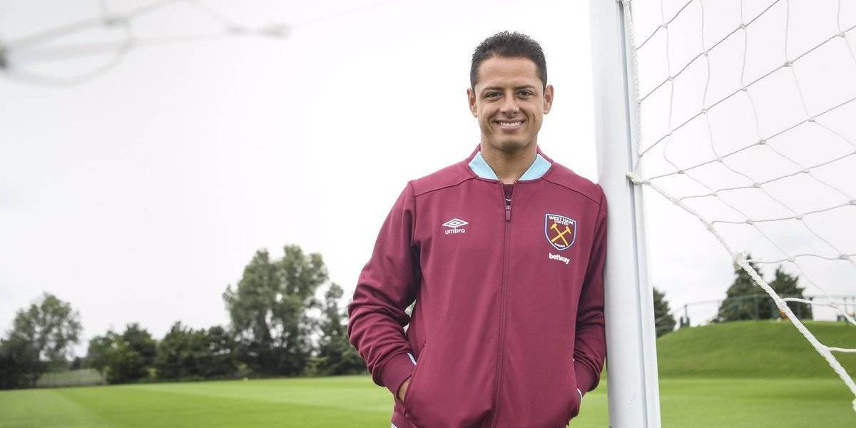 VIDEO: Así recibieron a 'Chicharito' en el West Ham