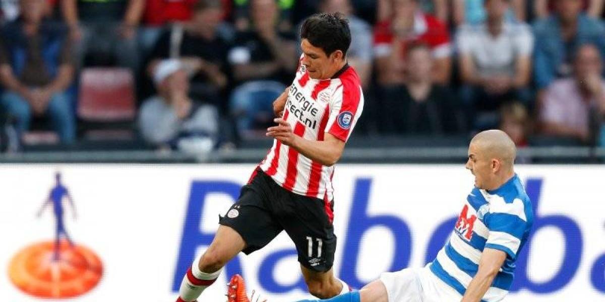 Chucky Lozano debuta oficialmente en derrota del PSV
