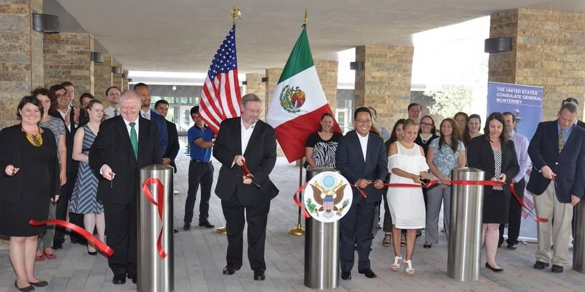 Inauguran Pabellón Consular de EU en Nuevo León