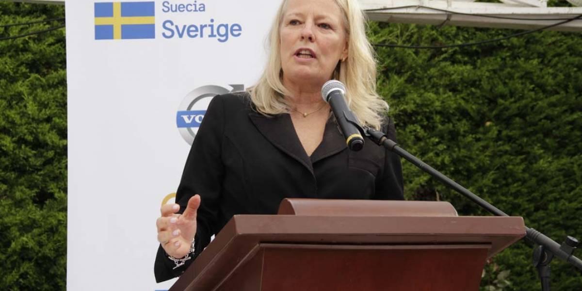 Embajada de Suecia apoya evento de restitución de tierras en Salaminita, Magdalena
