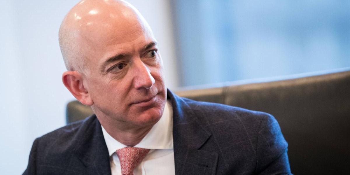 Jeff Bezos, fundador de Amazon, es la persona más rica del mundo