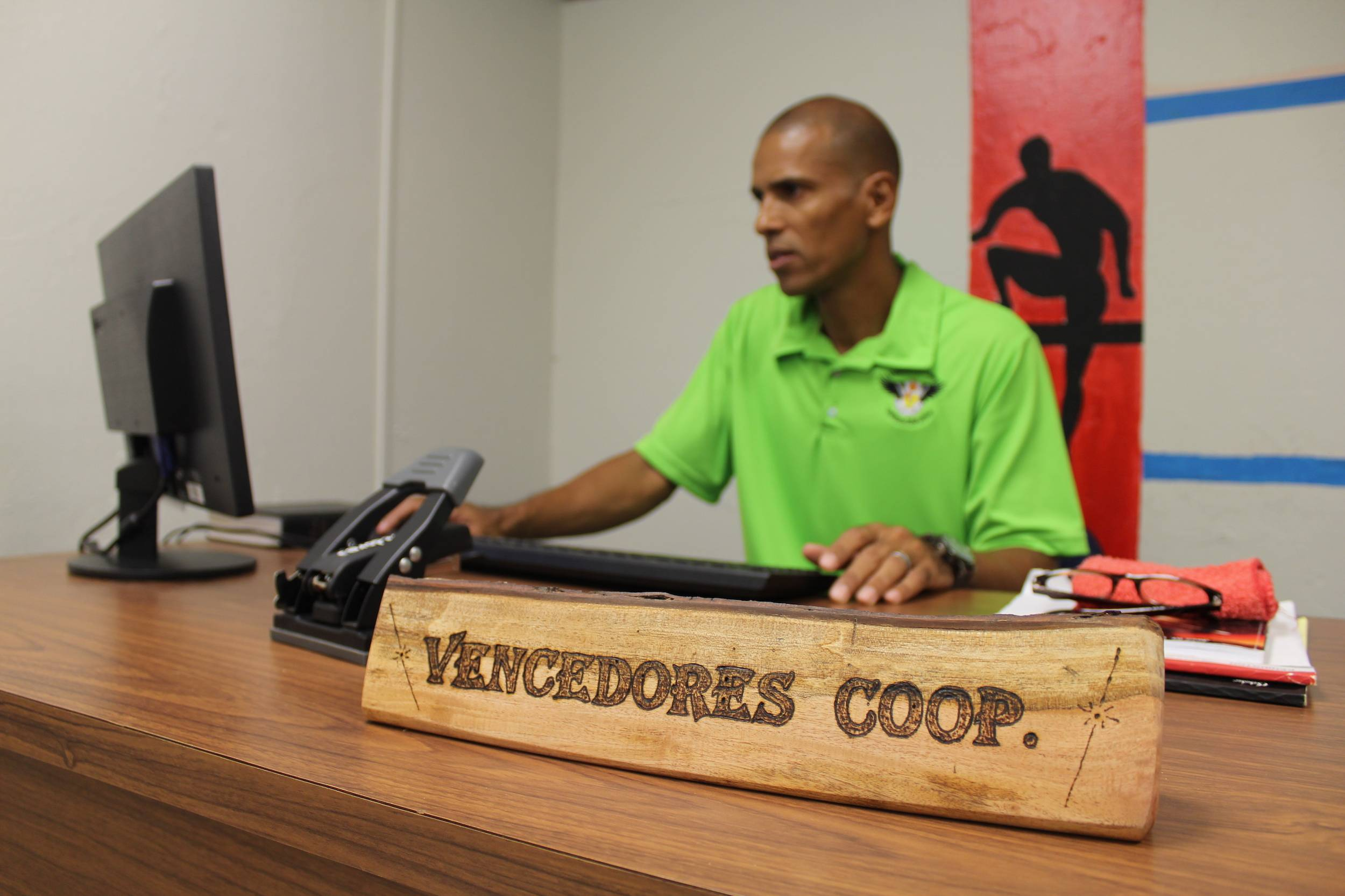 Ángel Reyes, presidente de Cooperativa Vencedores / Foto: David Cordero Mercado