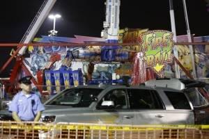 Accidente en feria de Ohio