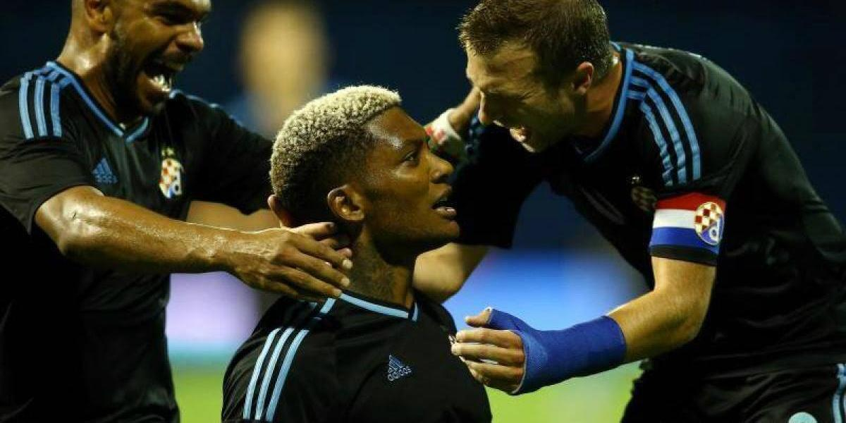 Junior Fernandes le dio el triunfo a Dinamo Zagreb en ronda previa de Europa League