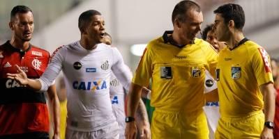 Santos pede anulação da partida contra o Flamengo na Copa do Brasil